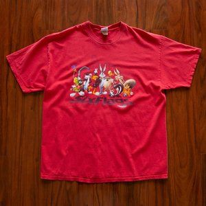 Vintage 2000 Six Flags Looney Tunes T-Shirt